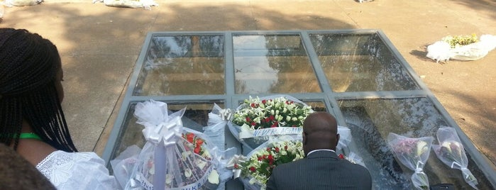 Kigali Memorial Center is one of Africa.