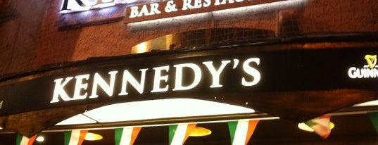 Kennedy's Irish Bar & Restaurant is one of Restaurants für Sonnenanbeter in München.