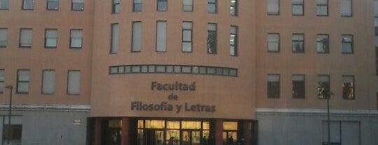 Facultad de Filosofía y Letras is one of Formación.