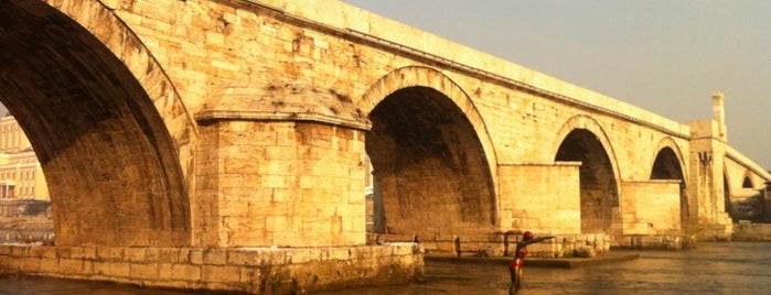 Камен мост / Stone Bridge is one of Skopje.
