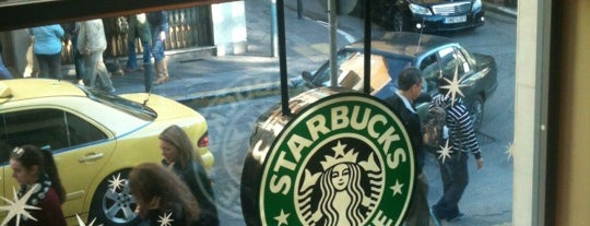Starbucks is one of Orte, die Tasos gefallen.