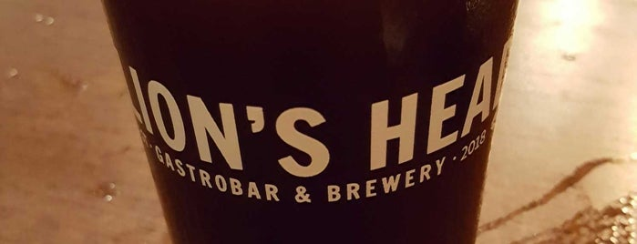 The Lions Head Gastropub & Brewery is one of Ams Todo.