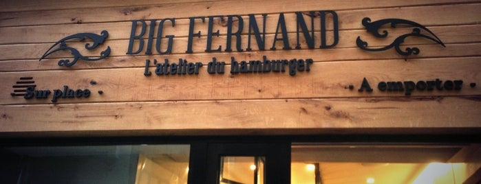 Big Fernand Montorgueil is one of Paris restaurants.