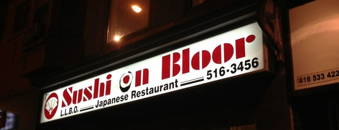 Sushi On Bloor is one of Toronto.