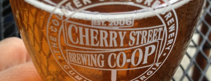 Cherry Street Taproom is one of Georgia Brew Pubs.