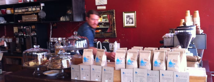 Blue Bottle Cafe is one of Coffee.