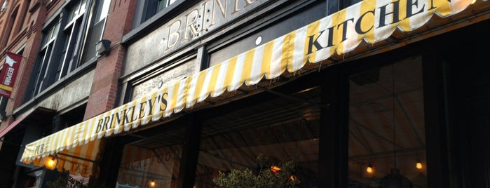 Brinkley's Broome Street is one of Whisky Bars @ NYC & Boston.