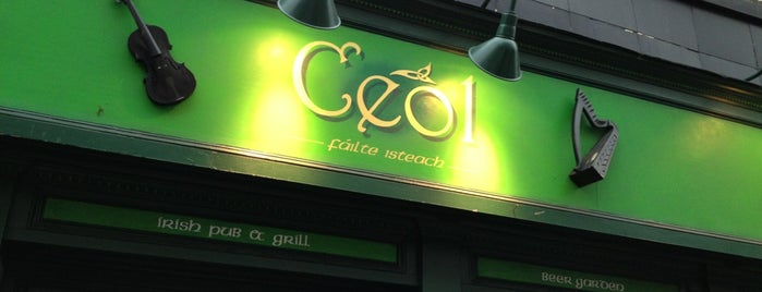 Ceol Pub & Grill is one of NYC Trivia Nights.