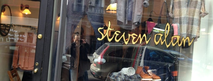 Steven Alan - Nolita (Men's) is one of Where to Shop for Emerging Designers: NYC.