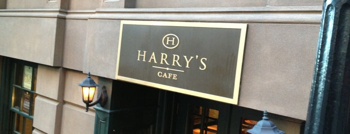 Harry's Cafe and Steak is one of USA NYC MAN FiDi.