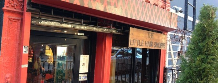 The Little Hair Shoppe is one of Orte, die Steve gefallen.