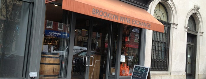 Brooklyn Wine Exchange is one of NYC - Where to get a drink.
