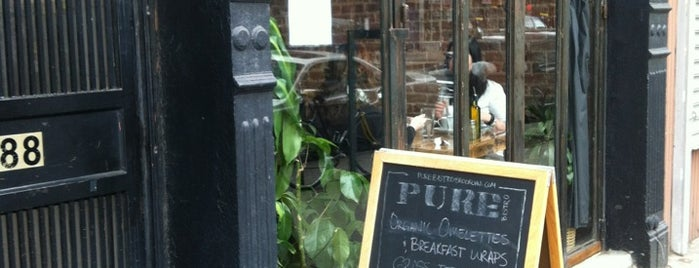 Pure Bistro is one of Eating My Way Through Brooklyn.