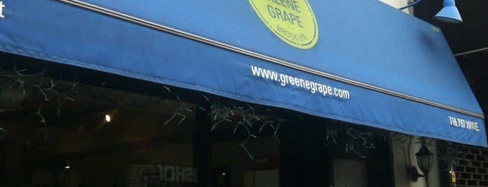 The Greene Grape Wine & Spirits is one of Shana 님이 저장한 장소.