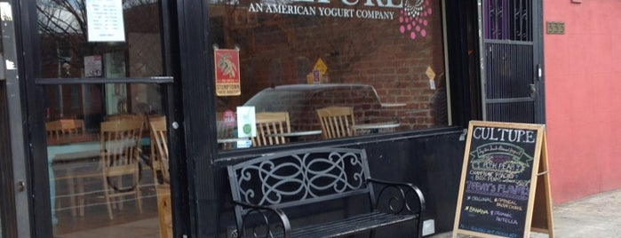 Culture: An American Yogurt Company is one of Brooklyn places to try.