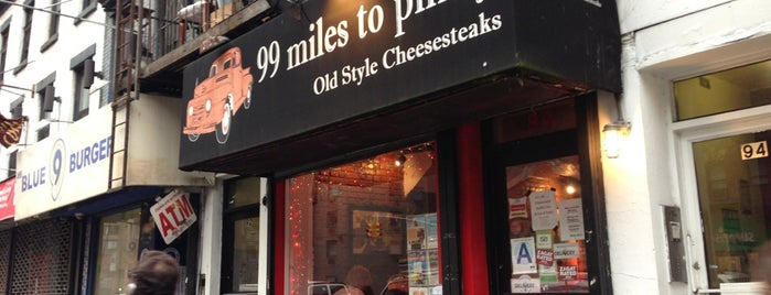 99 Miles to Philly is one of Eat in NY.