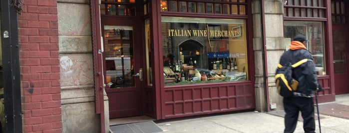 Italian Wine Merchants is one of NY TODO.