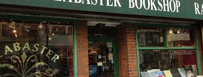 Alabaster Bookshop is one of NY.