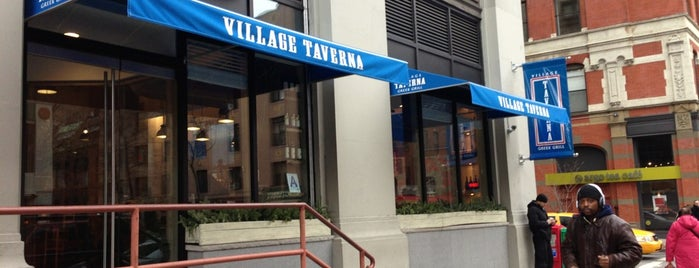 Village Taverna is one of NYC.