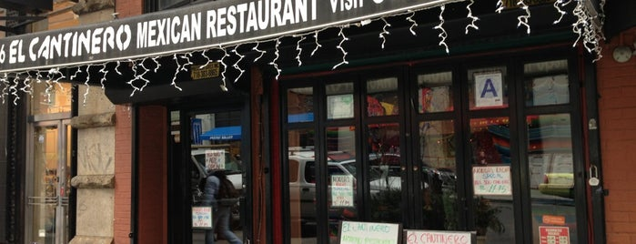 El Cantinero is one of Must-visit Food in New York.