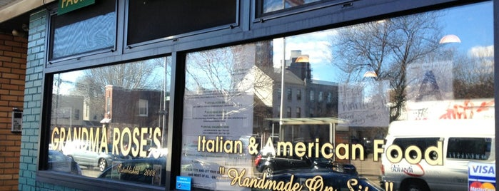 Grandma Rose's is one of Italian-American Spots.