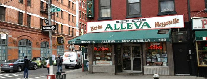 Alleva is one of New York City - April 2013.
