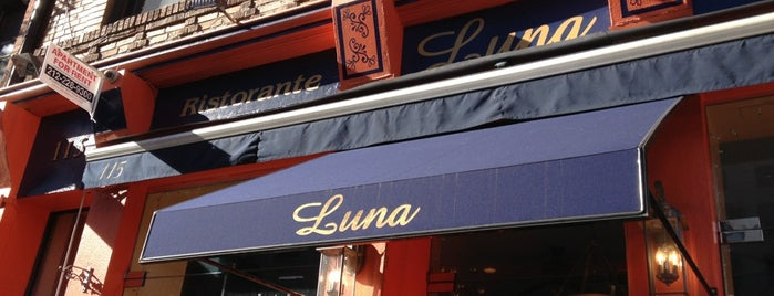 Luna Ristorante is one of New York City.