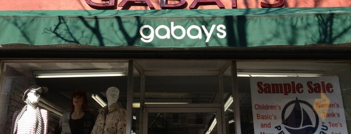 Gabays Outlet is one of 2012 - New York.