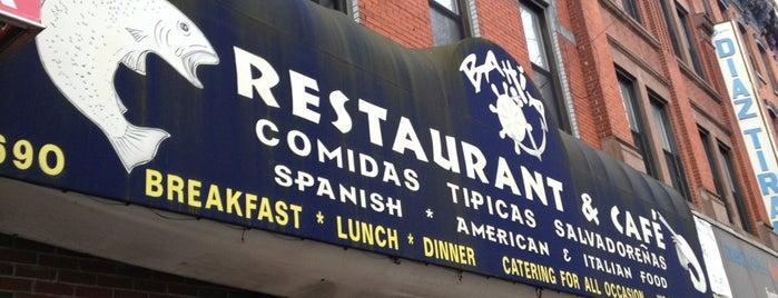 La Bahia is one of Favorite Restaurant In NYC.