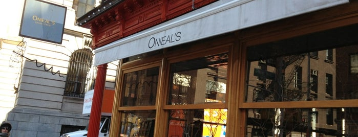 Onieal's Grand Street Bar & Restaurant is one of NYC.