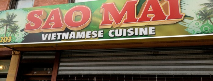 Sao Mai is one of NYC Restaurants Tried and True.
