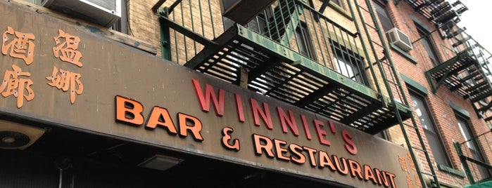Winnie's is one of Manhattan Dinner/Drink Spots.