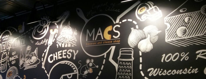MACS- Macaroni And Cheese Shop is one of Dells Trip.