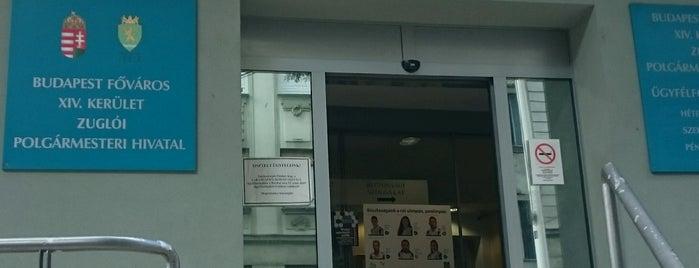 Zuglói Polgármesteri Hivatal is one of Andras : понравившиеся места.
