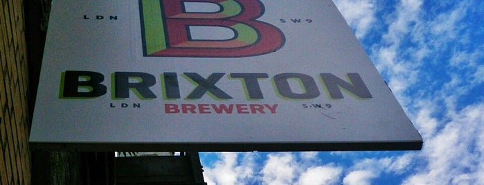 Brixton Brewery is one of London's Best for Beer.