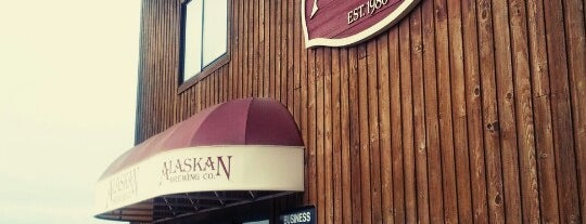 Alaskan Brewing Company is one of A Quaint Drinking Town With a Fishing Problem.