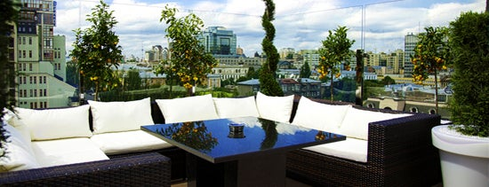 Atmosfera Restaurant is one of Top Kiev.