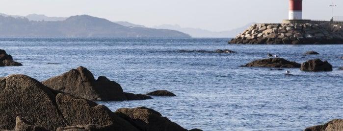 Playa Carabuxeira is one of Playas de España: Galicia.