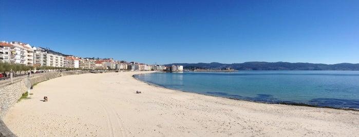 Paseo de Silgar is one of Playas de España: Galicia.