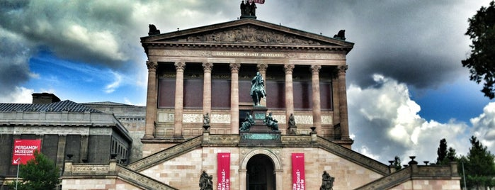 Alte Nationalgalerie is one of Lugares guardados de Maria.