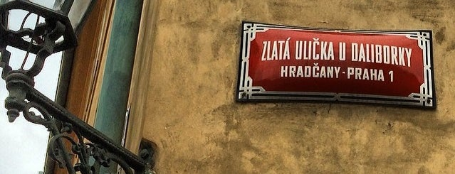 Zlatá ulička | The Golden Lane is one of Pražské památky.