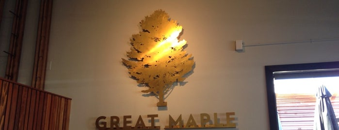 Great Maple is one of San Diego to-do's.
