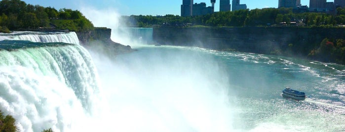 Niagara Falls State Park is one of Go Ahead, Be A Tourist.