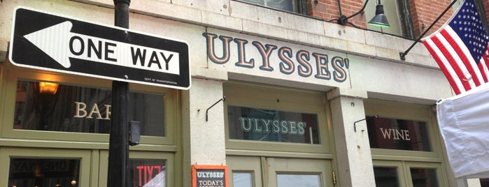 Ulysses Folk House is one of NYC: FiDi Luncher.