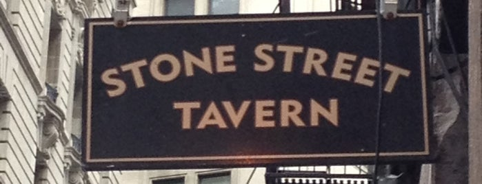 Stone Street Tavern is one of NYC Best Outside/Rooftop Bars.