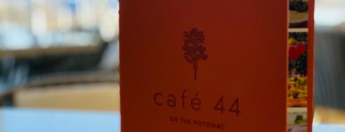 Café 44 is one of DC Brunch Places 🍳🇺🇸.