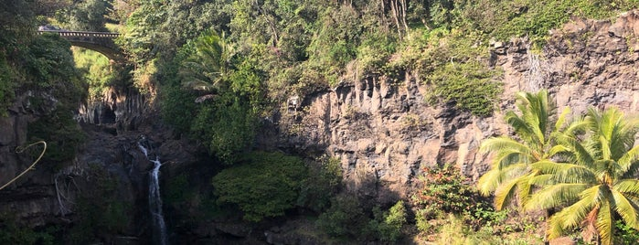 Seven Sacred Pools- Oheo Gulch is one of Hawaii.