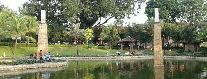 Taman Ayodya is one of Enjoy Jakarta 2012 #4sqCities.