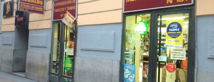 Estanco calle Pez is one of Madrid.