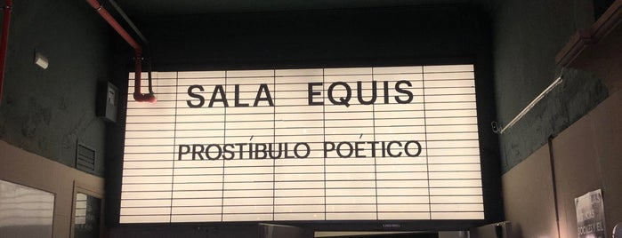 Sala Equis is one of Madrid.